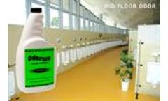 ODOREZE Eco Hardwood Floor Odor Neutralizer: Makes 64 Gallons to Clean Urine Stench