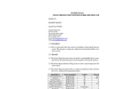 Dandy - Flagship Filter Bag Specifications Brochure