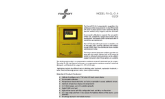 Model FX-CLO - Reagentless Ozone Analyzer Brochure