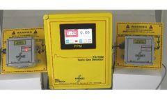 Foxcroft - Model FX-1502v4  - Dual Channel Toxic Gas Detector
