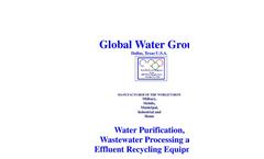 Global Water - Mobile Desalination Basic Unit Brochure