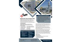 Regenerative Thermal Oxidizer (RTO)