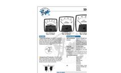 Hoyt 5000 Series Analog Meter Brochure