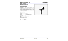 HydroLynx - Model 5050WD - Wind Direction Sensor Brochure