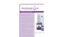 Oil Sponge IS Industrial Strength Cleaner Sales Sheet