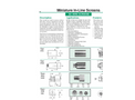 Model SS Wire - Miniature In-Line Screens - Datasheet