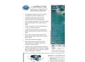 Aspirator - Surface & Subsurface Industrial Aerator System - Salesheet