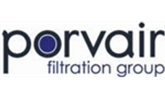Porvair launches `Made In America` Range of Purification Filters