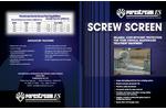 Screw Screen Brochure