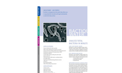 BactiQuant-Water - Robust and Reliable Analysis Tool - Brochure