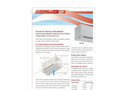 AireGard - Model NU-105 - Air Cleaning Ceiling Module Brochure
