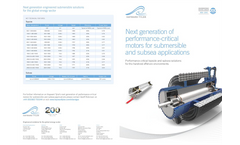 Submersible Motors Brochure