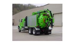 AquaTech - Model B Series - Combination Sewer Cleaner