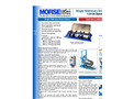 Model 1-5154 Series - Single Stationary Drum Roller Specifications Sheet