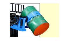 Forklift Barrel Dumper