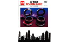 BS&B - Model RE/RE-7R - Replaceable Element Disks -Brochure
