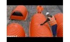 Installation Video - Underground Plastic Chamber | StormChamber - Video