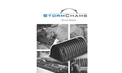 Storm Chamber Design Manual