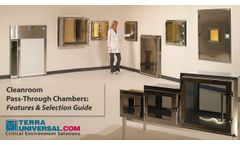 Laboratory & Cleanroom Pass-Throughs - Video