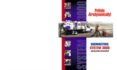Vacmasters - Model 3000 - Air-Vacuum Excavation System Brochure