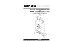 Van Air - Model 200-2000 SCFM - Large Compressed Air Dryers bROCHURE