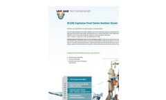 Van Air - Model HLSXG - Explosion Gas Dryers Brochure