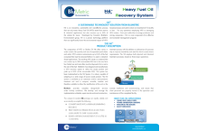 BluMetric - Model H4 - Heavy Fuel Oil Recovery System  Brochure