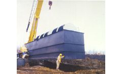 Rotordisk - Fully Contained Steel Wastewater Treatment Plant