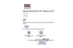 1420855 - Filter Retaining Clip for SEC Signature and SEC DIR Brochure
