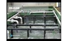 Ecologix E-820 DAF System Purifying Frac Wastewater - Video