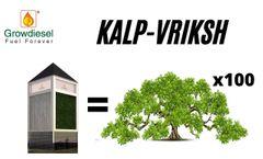Growdiesel KalpVriksha : Nano Engineered Himalayan air forest   Growdiesel Education - Video