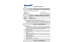 Zappa-Stewart- Model GR - Superabsorbent Powders Brochure