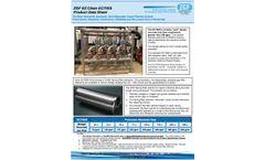 ZGF EZ Clean - Model EC700S/SLT - Advanced, Automatic, Non-Disposable Liquid Filtration System - Datasheet