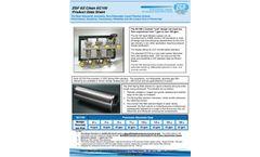 ZGF EZ Clean - Model EC100 - Automatic, Liquid Filtration System - Datasheet