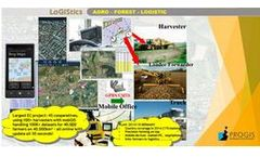 Progis - Version LoGIStics incl. mobGIS - Logistics Software for Forestry Industry