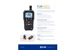 FLIR - Model MR77 - 5-IN-1 Moisture Meter With Meterlink™ - Datasheet
