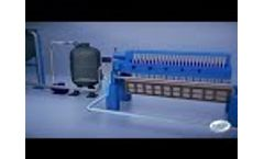 Electro Coagulation ETP Operation by Pristine Water Video