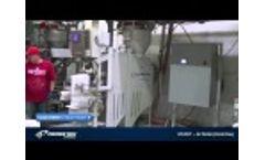 Ultrasonic Sealer for valve bag fillers (725 NXT Cleanpak) Video
