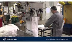Manual Bagging Scale for Free Flowing Products (E-55 MB Series) - Video