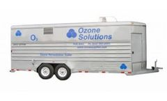 Model RMT - Trailer Mounted Ozone Groundwater Remediation Systems