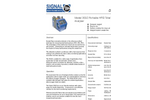 Signal - 3010 MINIFID - Portable Heated FID THC Analyser - Datasheet