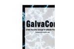 GalvaCorr Galvanic Coating for Concrete Brochure