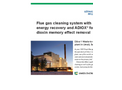 Flue Gas Cleaning System With Energy Recovery and ADIOX for Dioxin Memory Effect Removal Brochure