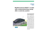 Multifunctional ADIOX Scrubber with Condensation/Heat Pump Afer a Semi-Dry System Brochure
