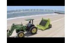 Barber SURF RAKE 600HD Beach Cleaning Machine Video