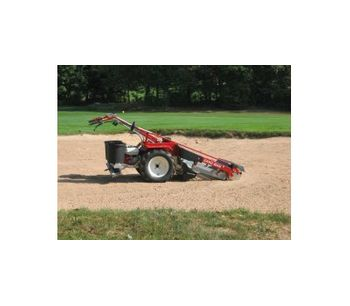 H. Barber & Sons SAND MAN - Model 850 - Walk Behind Sand Cleaners