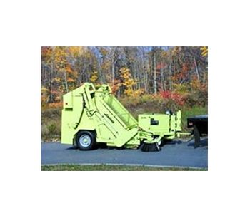 Road Rake - Model 200 - Independently Powered Litter Collection Machine