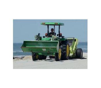Model 400 - Compact Beach Raking Machine
