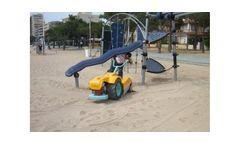 Unicorn - Model Troyer Parks Series - Small Beach Cleaners
