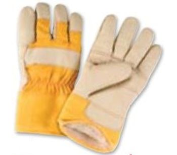 Model SAP 290 - Grain Furniture Leather Fitters Acrylic Boa-Lined Gloves